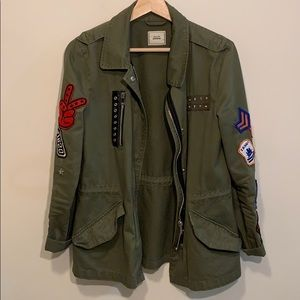 PIMKIE, Army Anorak Stile Jacket,Olive Green